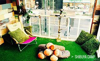 シーシャカフェ NORTH VILLAGE 渋谷キャンプ店