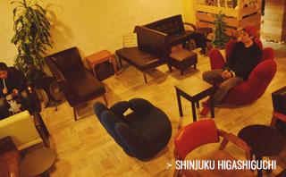 シーシャカフェ NORTH VILLAGE 新宿1号店